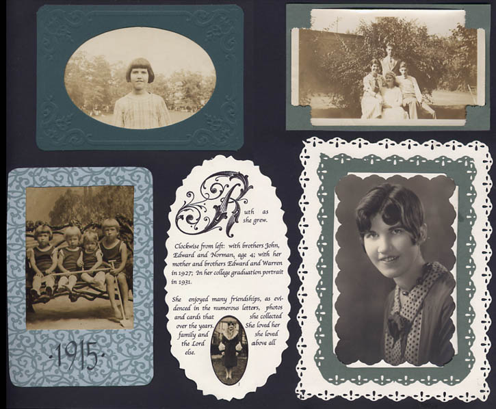 Ruth Tuttle Scrapbook