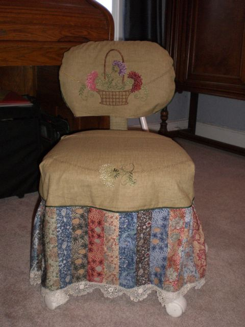 Chair Cover Front