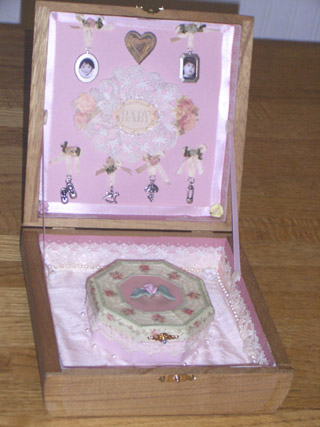 Baby Wish Box Inside