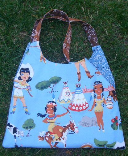 Sisters of the Wild Frontier Swing Bag