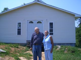 Ben Sayles & Mary Gwyn, Red Bluff Church, 2005
