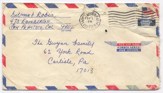 Envelope 1972
