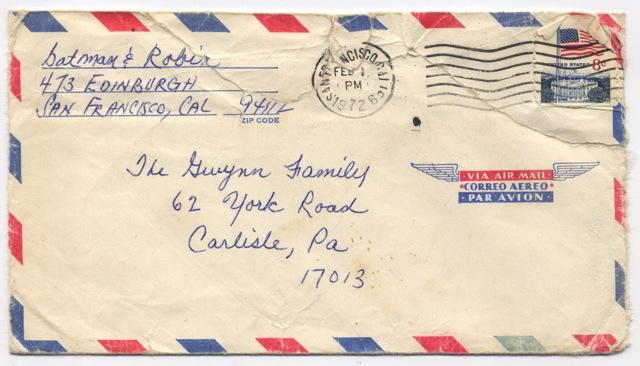 Envelope 1972
