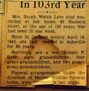 Love Sarah 1948